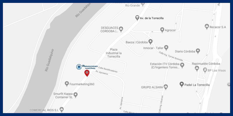Servicio Técnico Oficial CECOTEC en Córdoba mapa-reparaciones-martinez-2